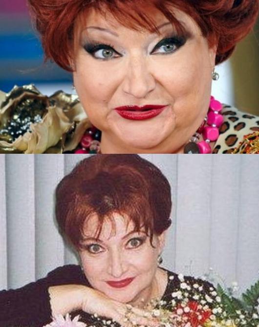 Елена Степаненко до и после похудения (фото)