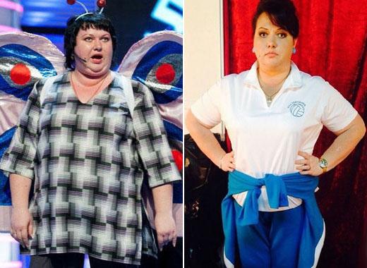 Ольга Картункова - как похудела? Фото до и после