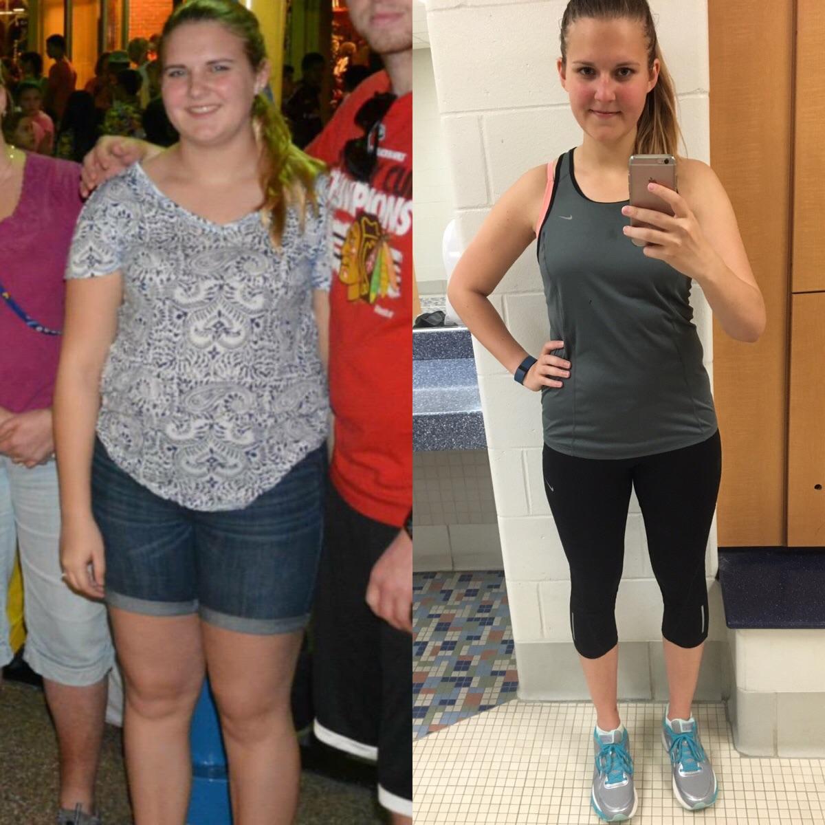 До и после диеты (фото)